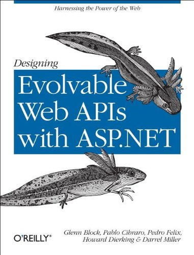 Large book cover: Designing Evolvable Web APIs with ASP.NET