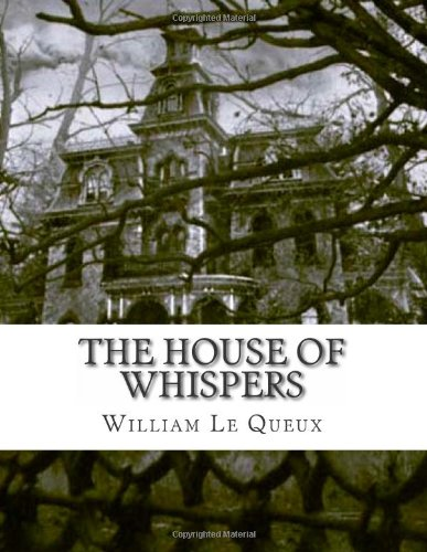 Large book cover: The House of Whispers