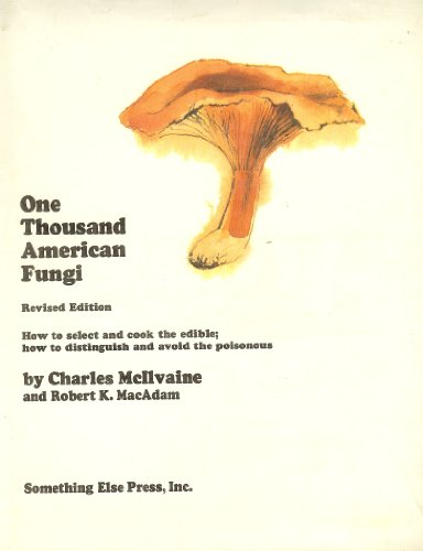 Large book cover: One Thousand American Fungi