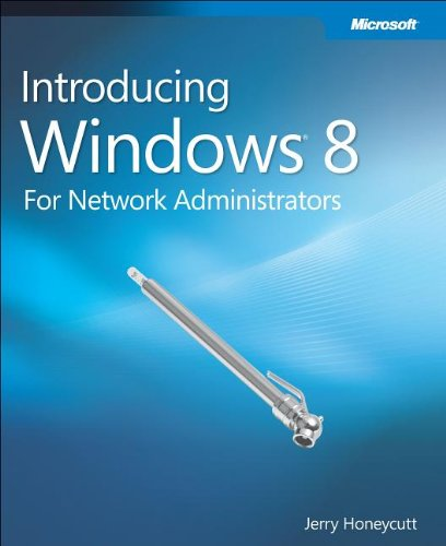 Large book cover: Introducing Windows 8: An Overview for IT Professionals