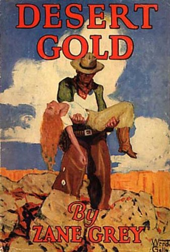 Large book cover: Desert Gold