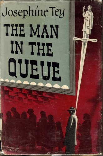 Large book cover: The Man in the Queue
