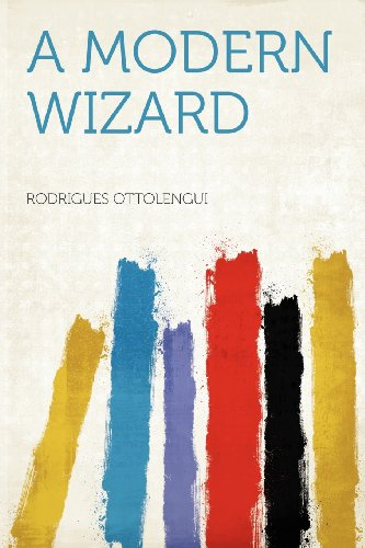 Large book cover: A Modern Wizard