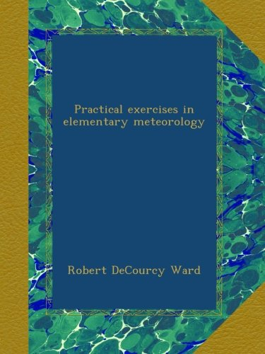 Large book cover: Practical Exercises in Elementary Meteorology