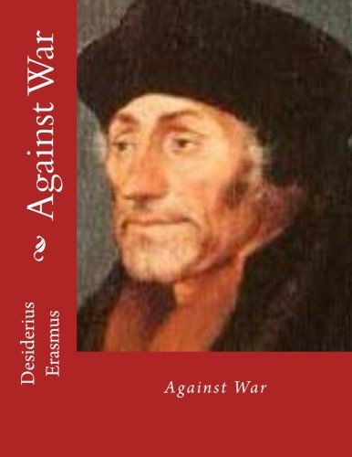 Large book cover: Against War