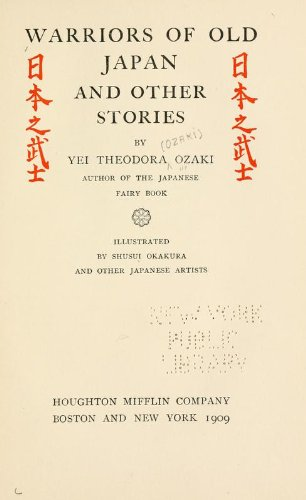 Large book cover: Warriors of Old Japan and Other Stories