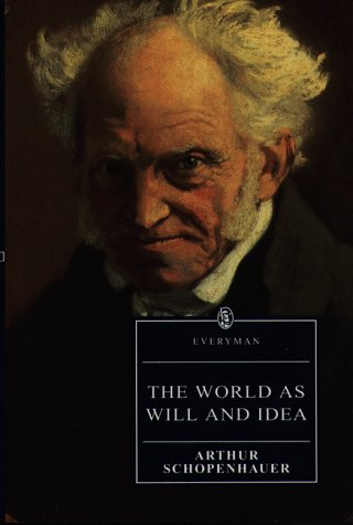 Large book cover: The World as Will and Idea