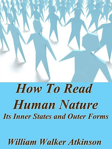 Large book cover: How to Read Human Nature