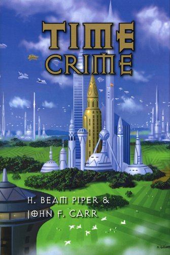 Large book cover: Time Crime