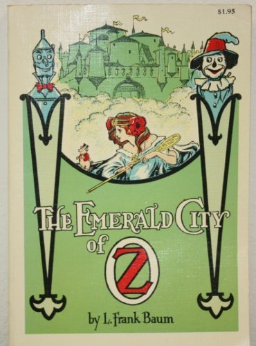Large book cover: The Emerald City of Oz