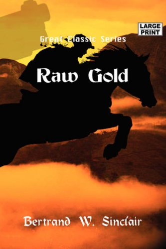 Large book cover: Raw Gold