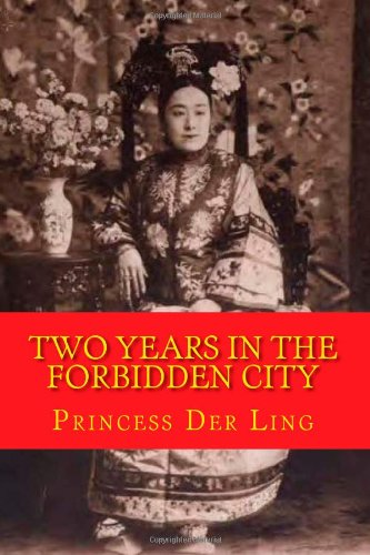 Large book cover: Two Years in the Forbidden City