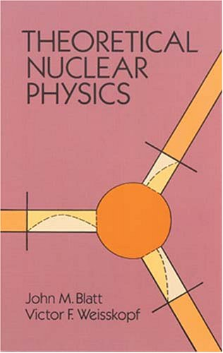 Large book cover: Theoretical Nuclear Physics