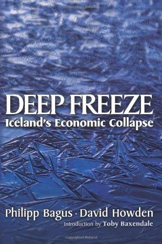 Large book cover: Deep Freeze: Iceland's Economic Collapse