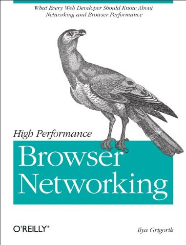 Large book cover: High Performance Browser Networking