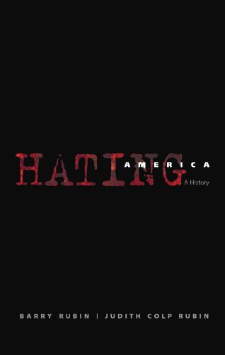 Large book cover: Hating America: A History