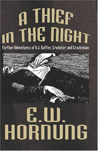 Large book cover: A Thief in the Night