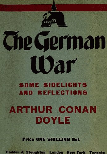 Large book cover: The German War