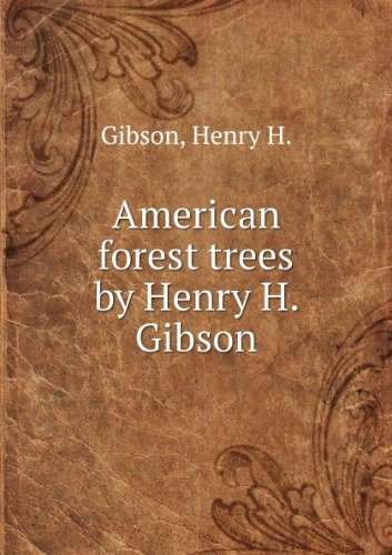 Large book cover: American Forest Trees