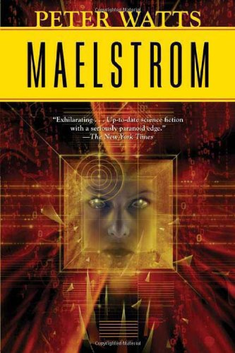 Large book cover: Maelstrom