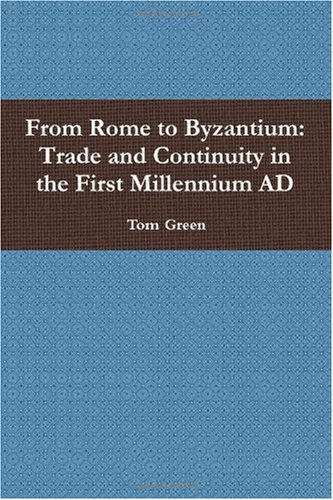 Large book cover: From Rome to Byzantium