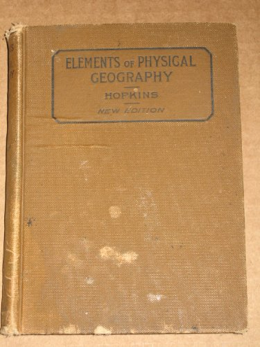 Large book cover: Elements of Physical Geography