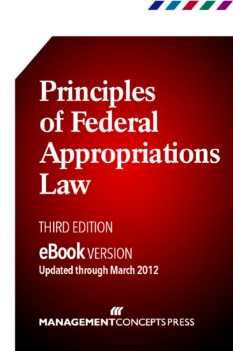 Large book cover: Principles of Federal Appropriations Law