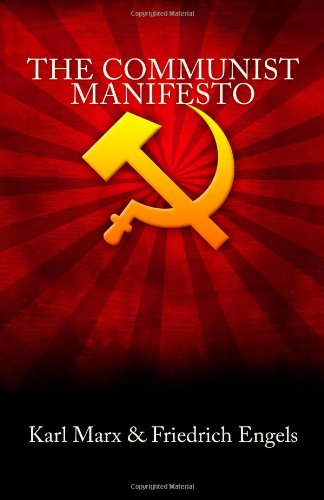 Large book cover: The Communist Manifesto