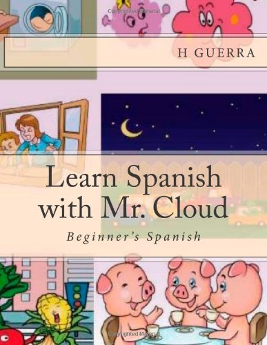 Large book cover: Learn Spanish with Mr. Cloud: Beginner's Spanish