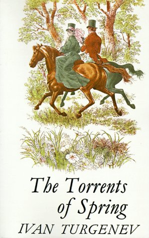 Large book cover: The Torrents of Spring