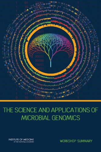 Large book cover: The Science and Applications of Microbial Genomics