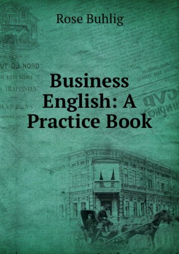 Large book cover: Business English: A Practice Book