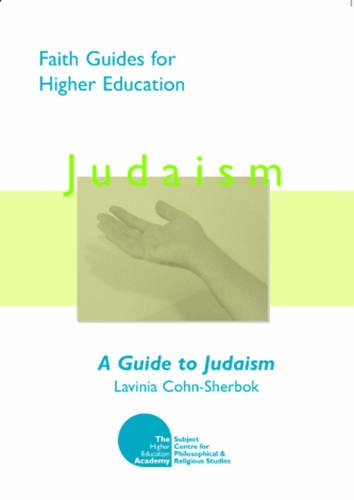 Large book cover: A Guide to Judaism