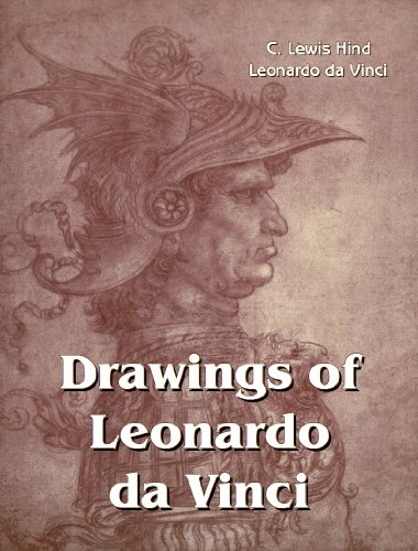 Large book cover: Drawings of Leonardo da Vinci