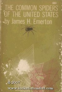Large book cover: The Common Spiders of the United States