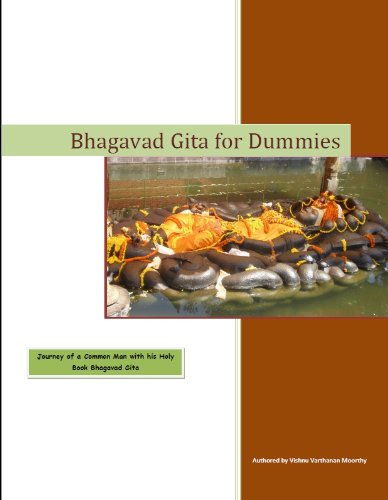 Large book cover: Bhagavad Gita for Dummies