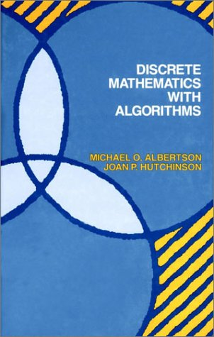 Large book cover: Discrete Mathematics with Algorithms