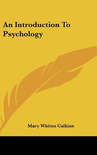 Large book cover: An Introduction To Psychology