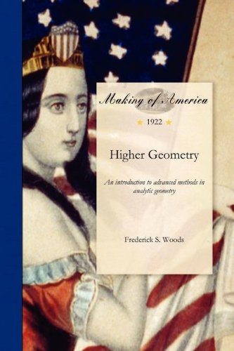 Large book cover: Higher Geometry: an introduction to advanced methods in analytic geometry