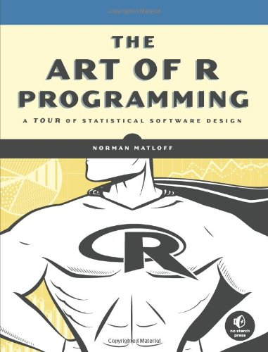 Large book cover: The Art of R Programming