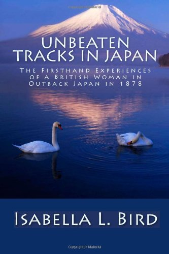 Large book cover: Unbeaten Tracks in Japan