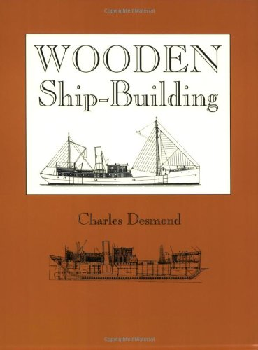 Large book cover: Wooden Ship-Building