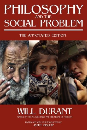 Large book cover: Philosophy and The Social Problem