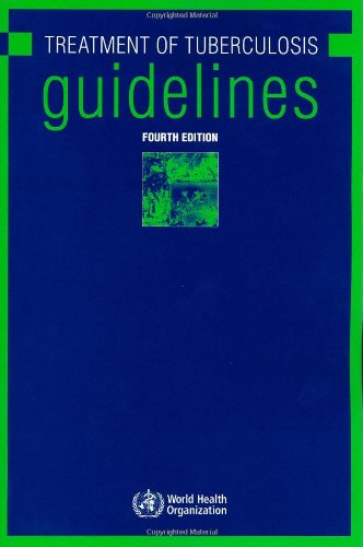 Large book cover: Treatment of Tuberculosis: Guidelines