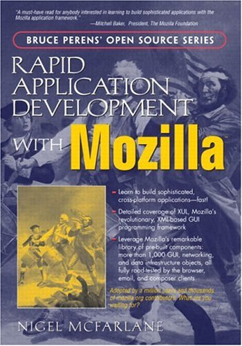 Large book cover: Rapid Application Development with Mozilla