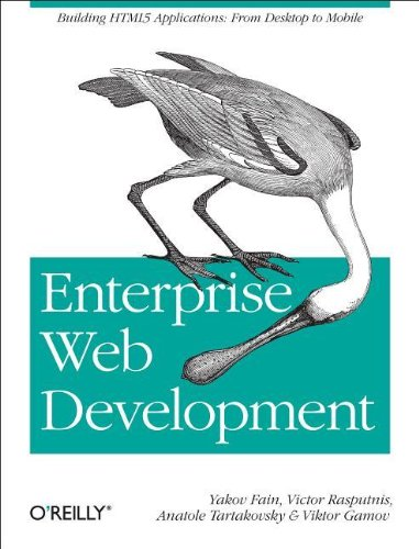 Large book cover: Enterprise Web Development: From Desktop to Mobile