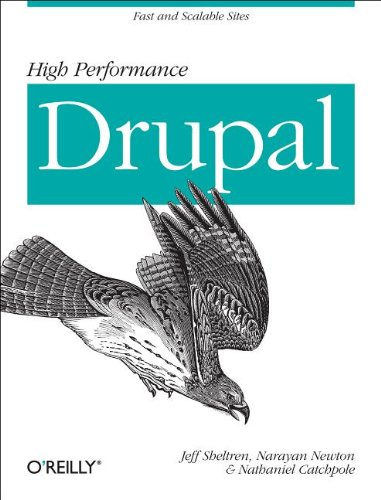 Large book cover: High Performance Drupal