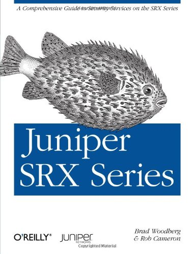Large book cover: Juniper SRX Series