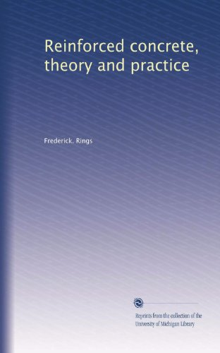Large book cover: Reinforced Concrete: Theory and Practice