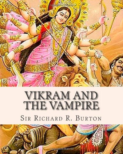 Large book cover: Vikram and the Vampire